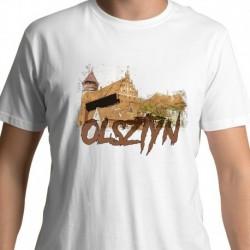 koszulka Olsztyn widok na zamek