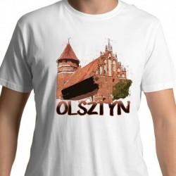 koszulka Olsztyn zamek akwarela
