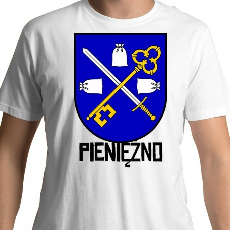 koszulka Pieniężno herb