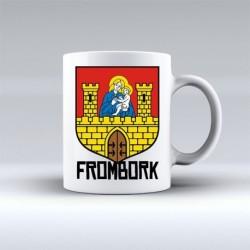 kubek Frombork herb