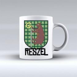 kubek Reszel herb