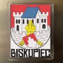 magnes Biskupiec herb