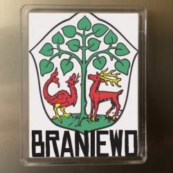 magnes Braniewo herb