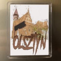magnes Olsztyn widok na zamek