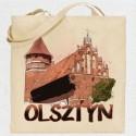 torba Olsztyn zamek akwarela