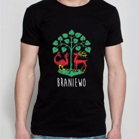 koszulka Braniewo czarna