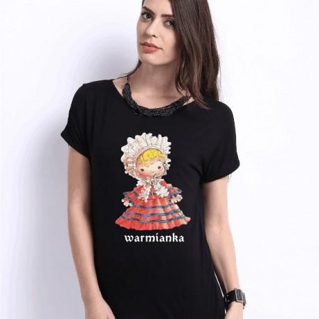 koszulka warmińska warmianka czarna