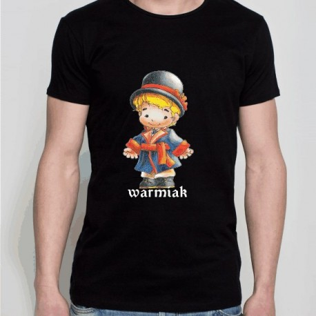 koszulka warmińska warmiak czarny