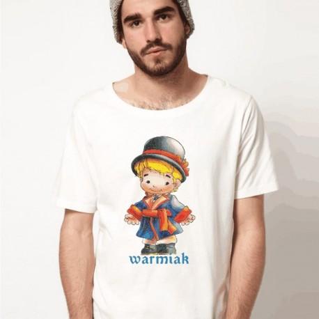 koszulka warmińska warmiak biały