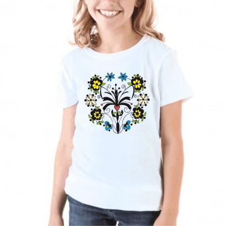 koszulka czepiec warmiński z gałązkami